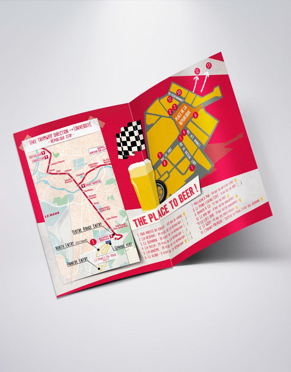 Funky Map Kronenbourg