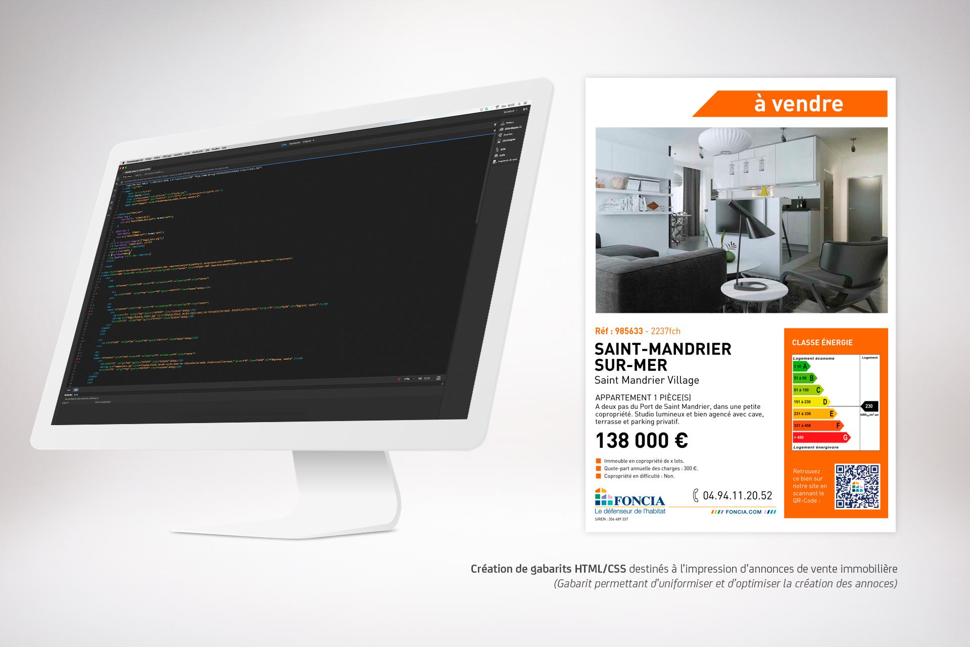Création de gabarits HTML/CSS dans un optique print