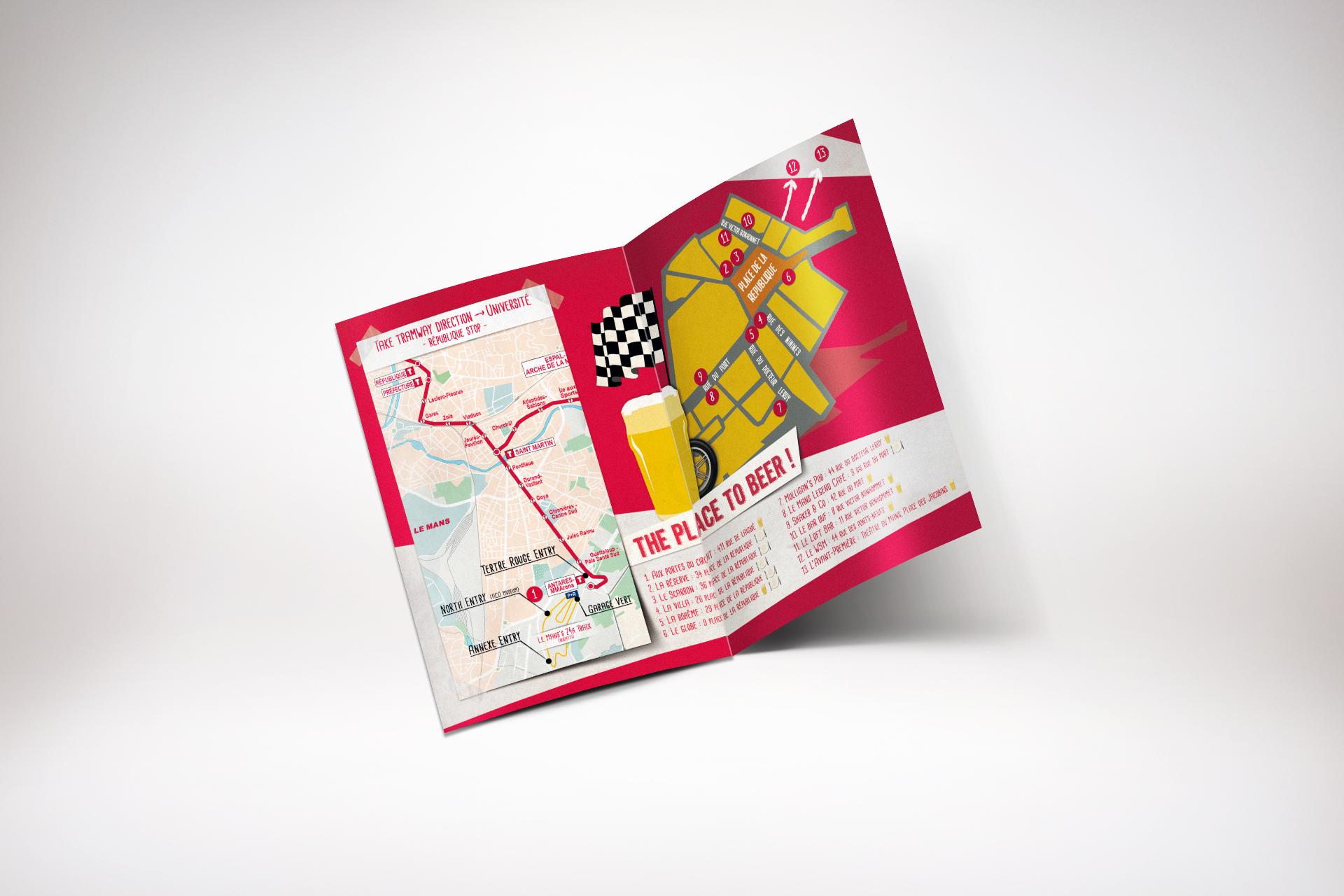 Mini-map Kronenbourg